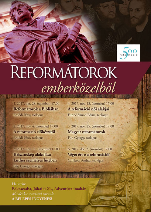 Reformátorok emberközelből