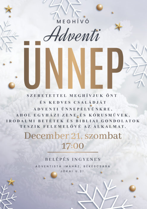 adventi unnep 2019