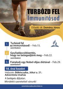 Plakát Turbózd fel immunitásod